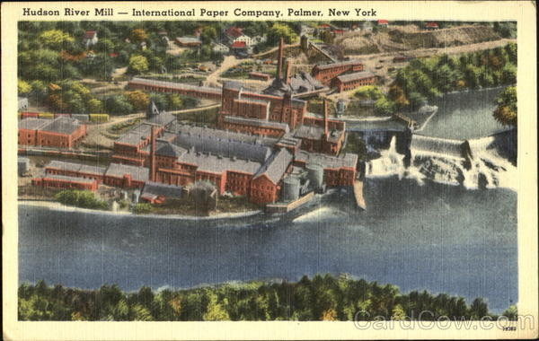 Hudson River Mill Palmer New York