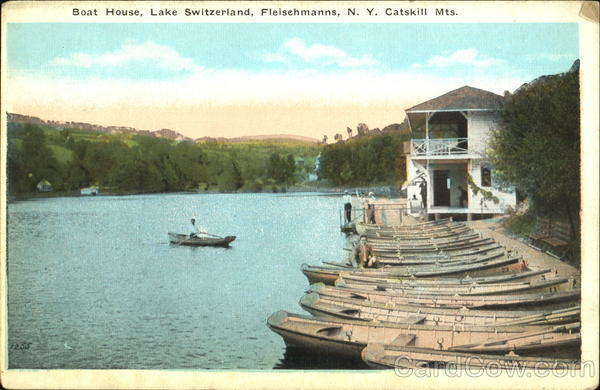 Boat House Fleisehmanns New York