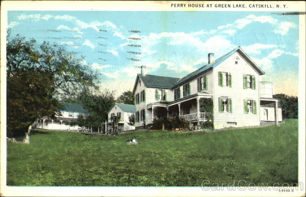 Perry House At Green Lake Catskill New York