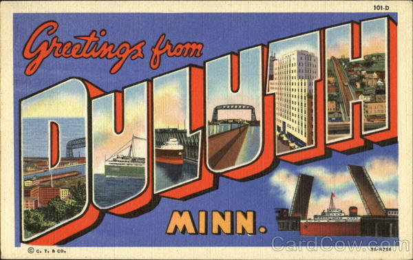 Greetings From Duluth Minnesota