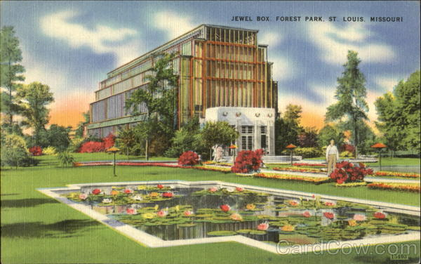 Jewel Box Forest Park St. Louis Missouri