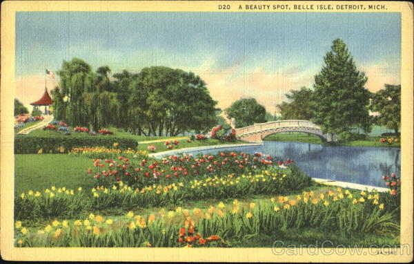 A Beautiful Spot Belle Isle Detroit Michigan