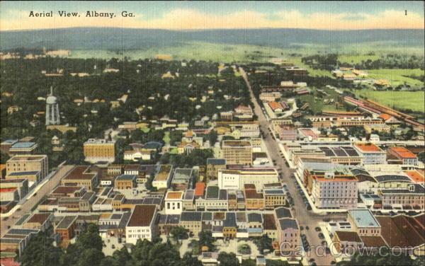 Aerial View Albany GA