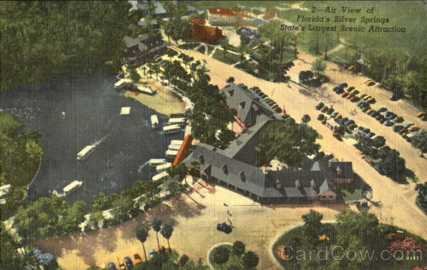 Air View Of Florida's Silver Springs
