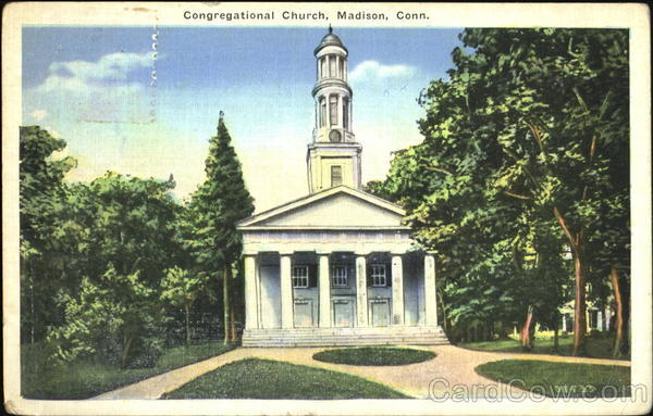 Congregational Church Madison Connecticut