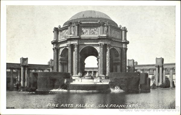 Fine Arts Palace San Francisco California