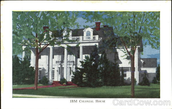 IBM Colonial House, 304 Lincoln Ave Endicott New York