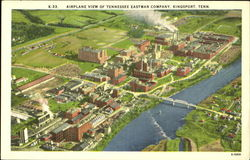 Airplane View Of Tennessee Eastman Company