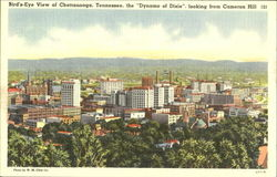 Bird's Eye View Of Chattanooga