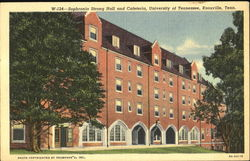 Sophronia Strong Hall And Cafeteria, University of Tennessee