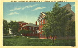 East Dormitory And Administration Bldg, Anderson College