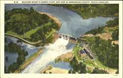 Buzzard Roost's Power Plant And Dam, Greenwood County