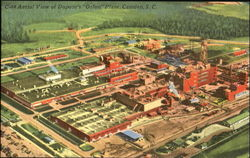 Aerial View Of Dupont's Orlon Plant