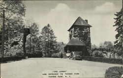 The Lodge And Entrance To Tuxedo Park
