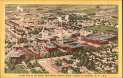 Aerial View Of The Kodak Park Works
