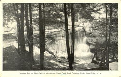 Water Fall In The Dell