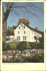 Hawkins Mount House, Long Island Postcard