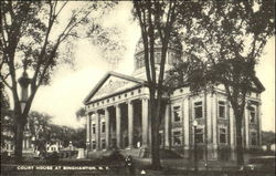 Court House At Binghamton Postcard