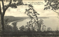 View Of Shore From Bluff Road