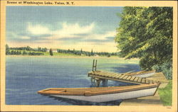 Scene At Washington Lake