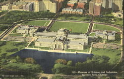 Museum Of Science And Industries, Jackson Park Postcard