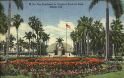 The Bandshell In Tropical Bayfront Park
