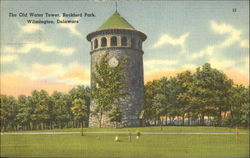 The Old Water Tower, Rockford Park