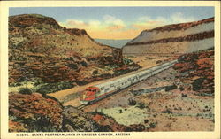 Santa Fe Streamliner In Crozier Canyon