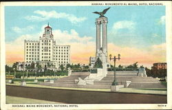 Havana Maine Monument National Hotel