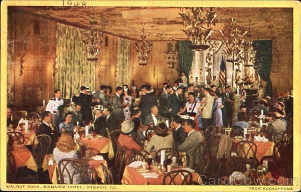 Walnut Room Bismarck Hotel Chicago, IL