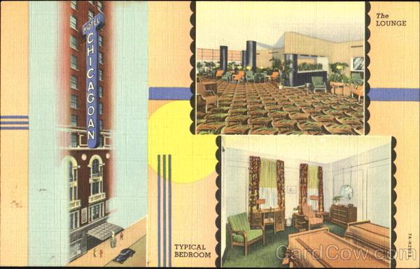 Hotel Chicagoan, 67 W. Madison St Illinois