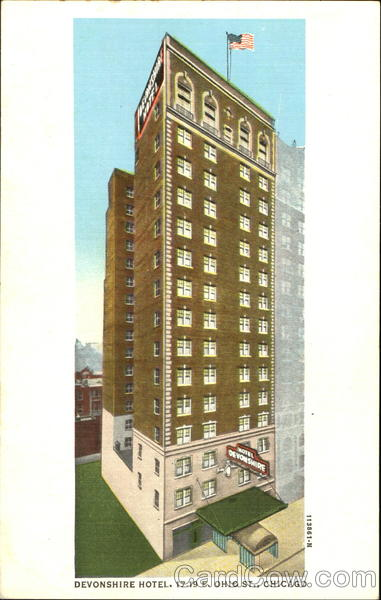 Devonshire Hotel, 17-19 E Ohio St Chicago Illinois