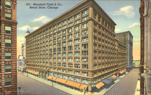 Marshall Field & Co., Retail Store, Randolph and Wabash Streets Chicago Illinois