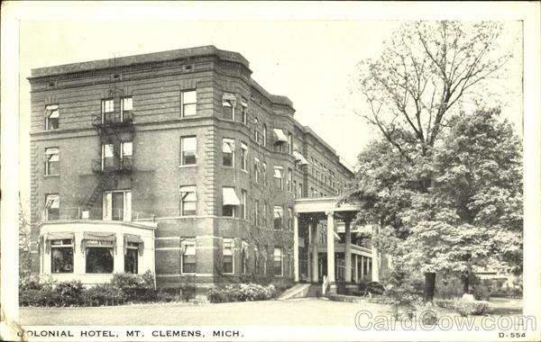 Colonial Hotel Mt. Clemens Michigan