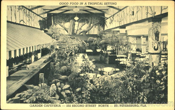 Good Food In A Tropical Setting, 232 Second Street North St. Petersburg Florida