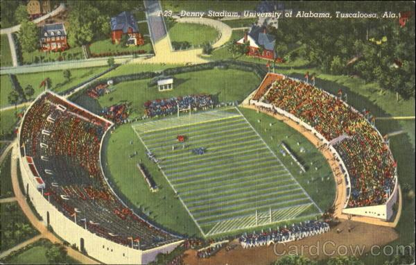 Denny Stadium, University of Alabama Tuscaloosa