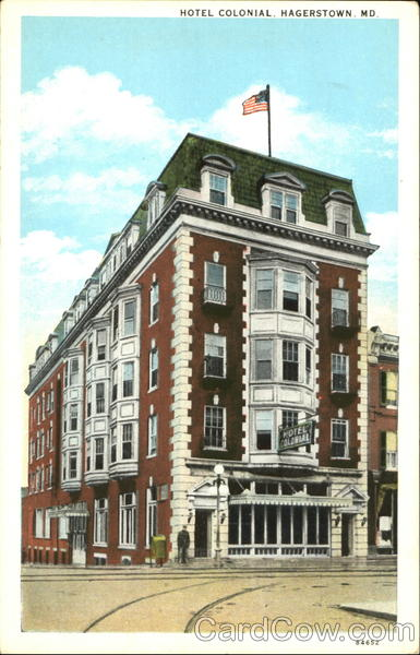 Hotel Colonial Hagerstown Maryland
