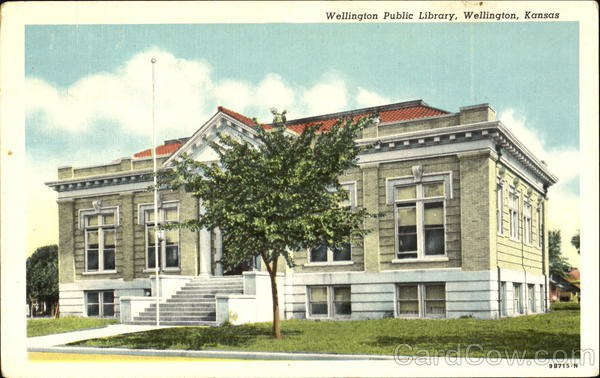 Willington Public Library Wellington Kansas