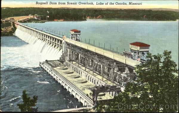 Bagnell Dam Lake Ozark Missouri