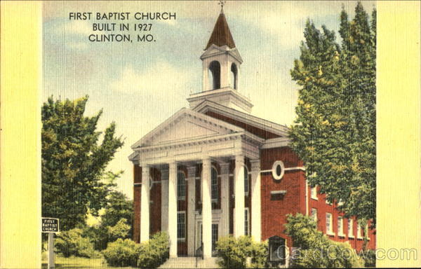 First Baptist Church Clinton Missouri