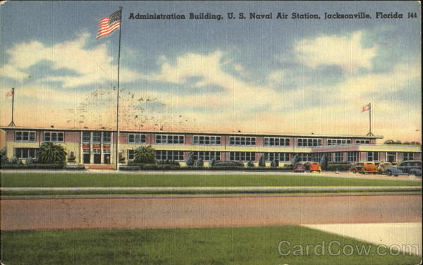 Administration Building, U. S. Naval Air Station Jacksonville Florida