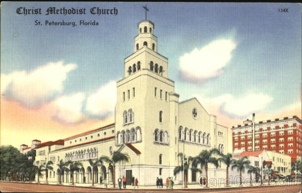 Christ Methodist Church St. Petersburg Florida