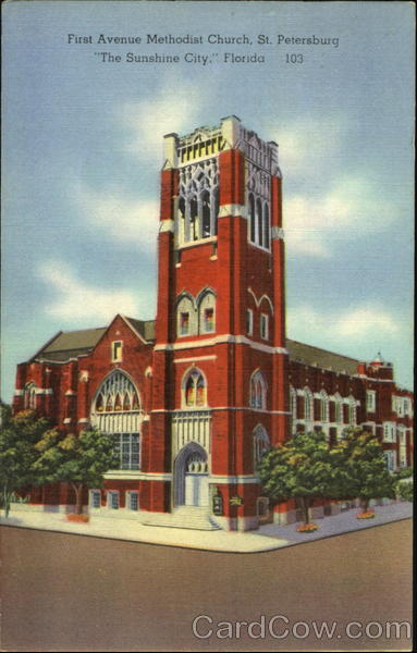 First Avenue Methodist Church St. Petersburg Florida