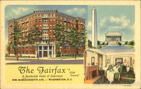 The Fairfax Washington District of Columbia