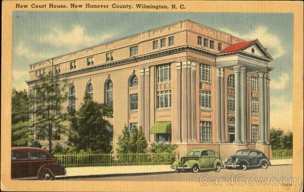 New Court House, Bnew Hanover County Wilmington North Carolina
