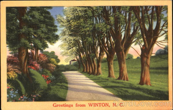 Greetings From Winton North Carolina
