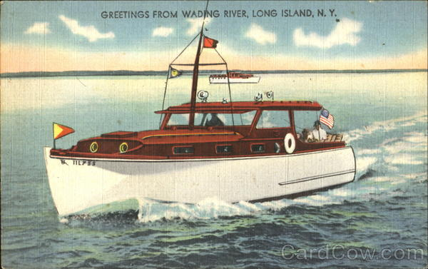 Greetings From Wading River Long Island New York