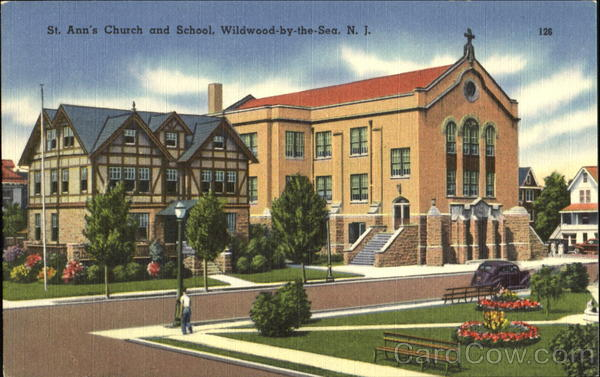 St. Ann's Church And School Wildwood-by-the-Sea New Jersey
