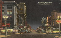 Night Scene, Main Street