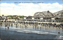 Aerial View Of Jacksonville Beach